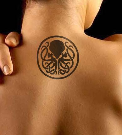 Cthulhu tattoo | CHTHULHU! | Buchstansangur | Flickr