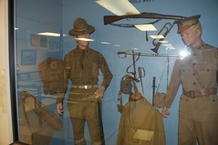 Pioneer Museum of Alabama - WW1 uniforms and equipment