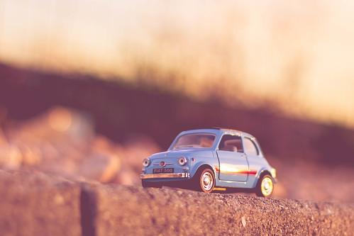 life road street travel sunset italy stilllife cars love car sunshine sunrise canon landscape 50mm golden daylight italian italia fiat bokeh sunny hour 500 lovely eosm