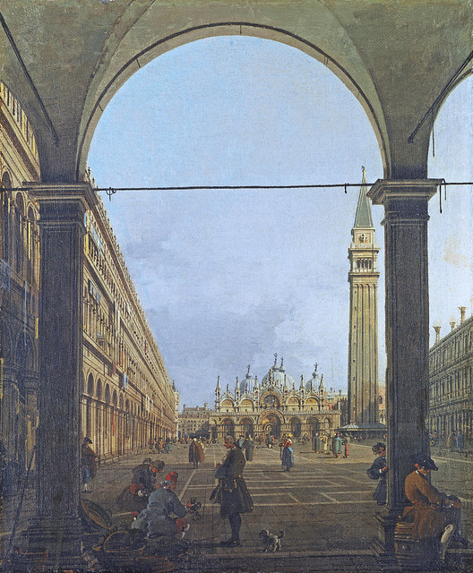 Venice: Piazza San Marco [about 1758]