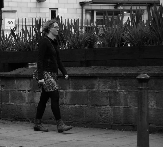 Lady in Leeds.