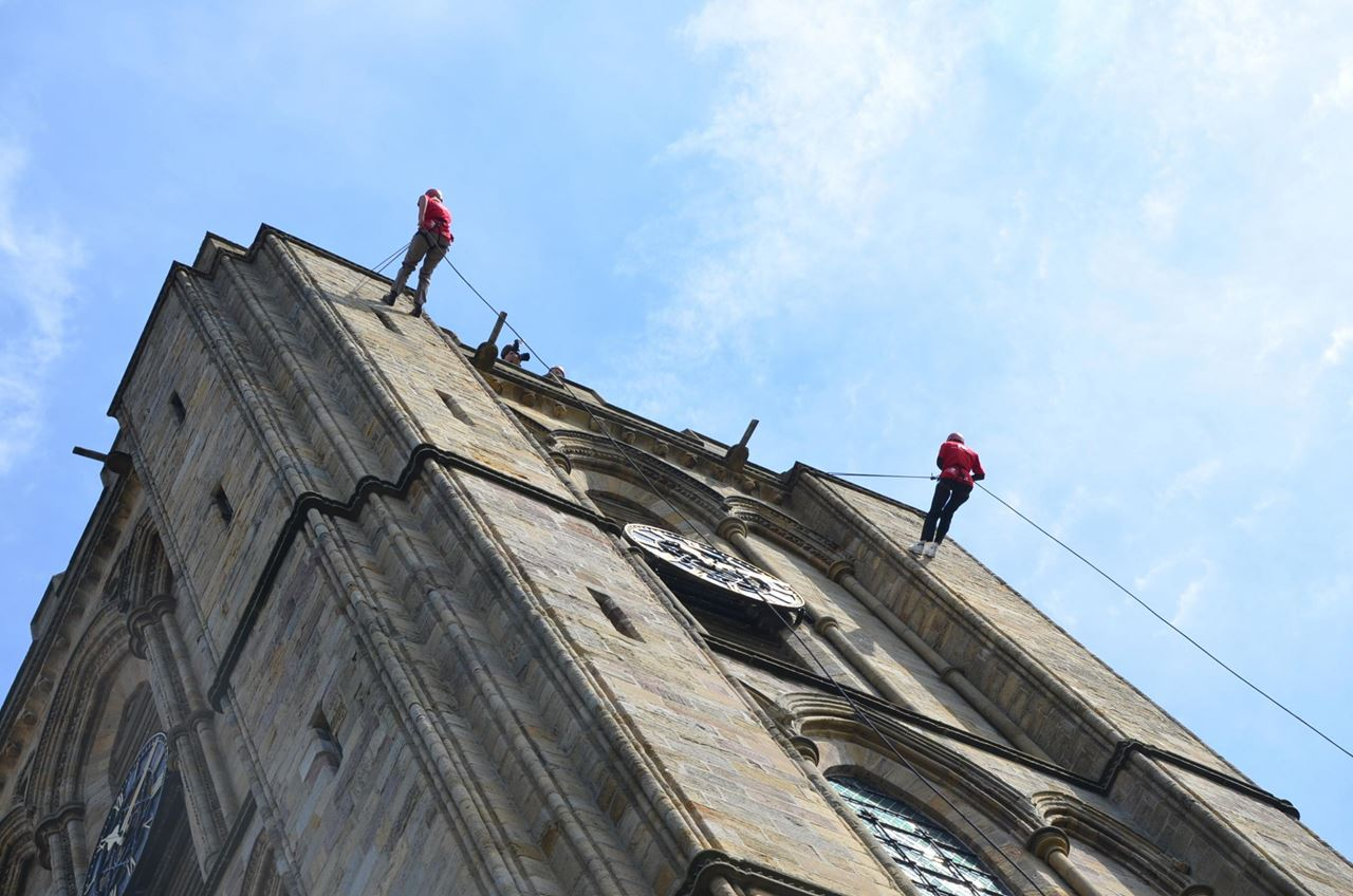 25. Abseil down the spire