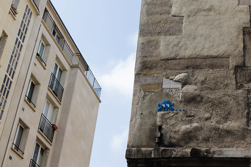 Invader in Paris | by evelina ander