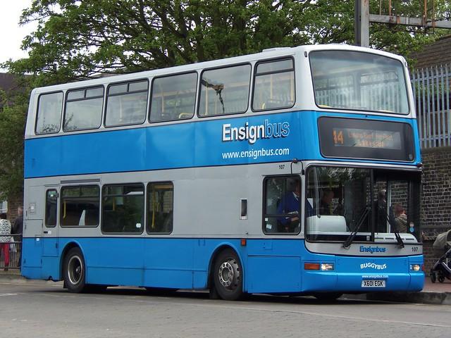 Ensignbus - X603EGK - Grays - 15 May 2013