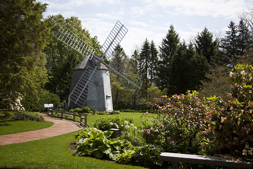 Heritage Museums and Gardens, Windmill Garden in Spring - Sandwich | by Massachusetts Office of Travel & Tourism