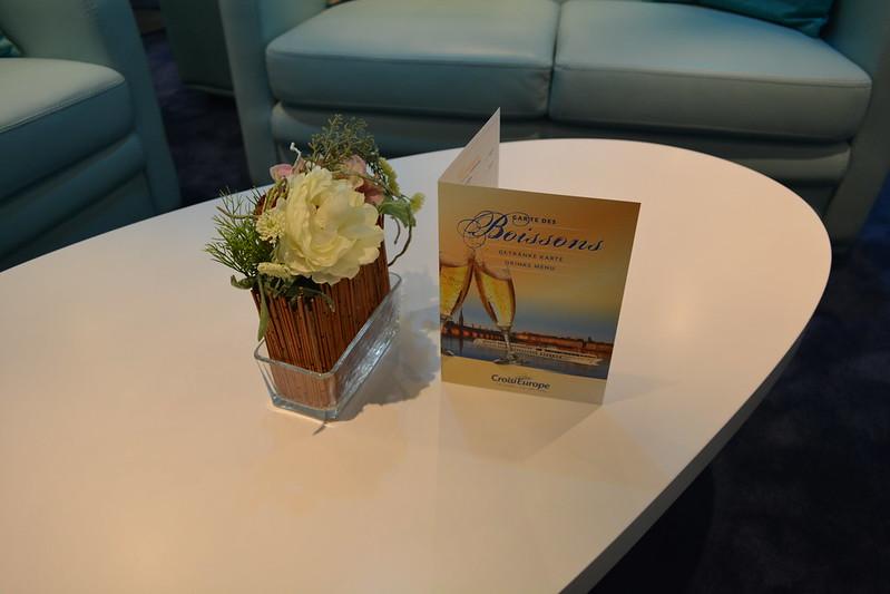 La carte des boissons disponibles à bord est très riche - A bord du MS CYRANO DE BERGERAC - Croisieurope - Bordeaux - 16 mai 2013