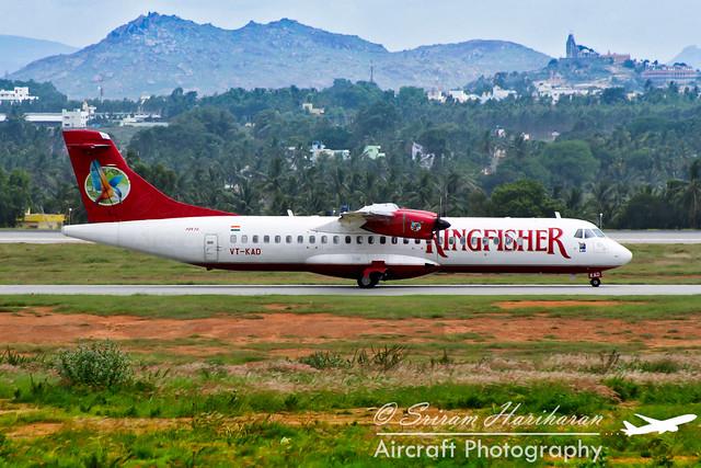 VT-KAD Kingfisher AIrlines ATR 72-500