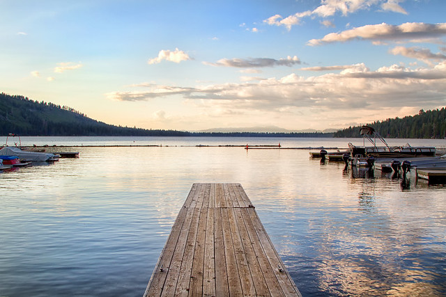 Dock on Fallen Leaf Lake {EXLORED}