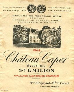 France - St. Émilion 1964