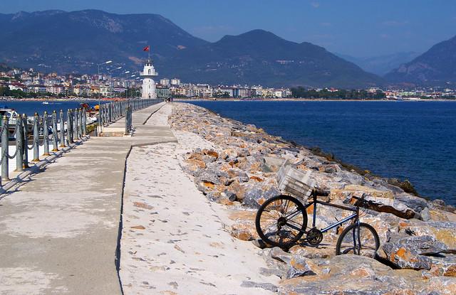 On the way to lighthouse- Alanya, Turkey