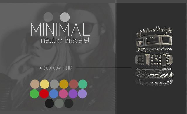 MINIMAL - Neutro Bracelet (Remake)