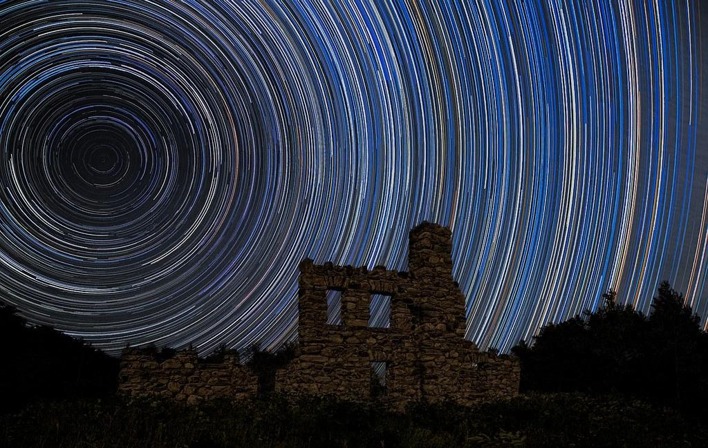 Star Trails at Castle Glen.