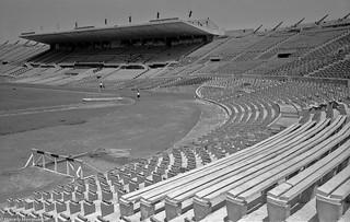 De Marcelo Montealegre Ampliaciones del Estadio Nacional para el Mundial de Fútbol de 1962. 30 de noviembre de 1960