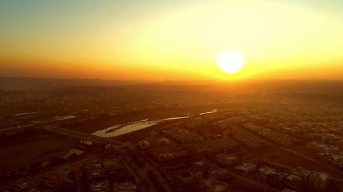 fromwhereidrone rawalpindi pakistan phantom dji phantom4pro sufined drone skies sky sunset