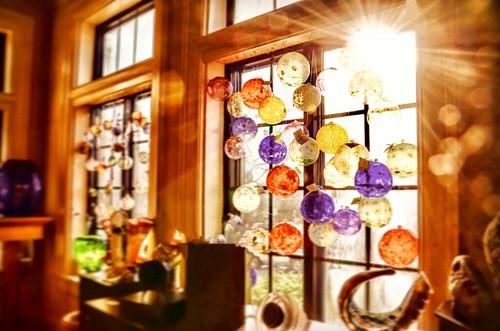 shadow window dof sculpture flares sun light dreamlike magical glassbaubles bluffviewartdistrict flickr chattanoogatennessee therivergallery