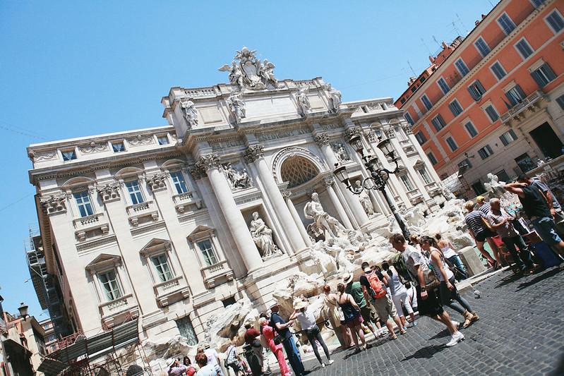 義大利自助旅行 Day 3(許願池、萬神殿、西班牙廣場)