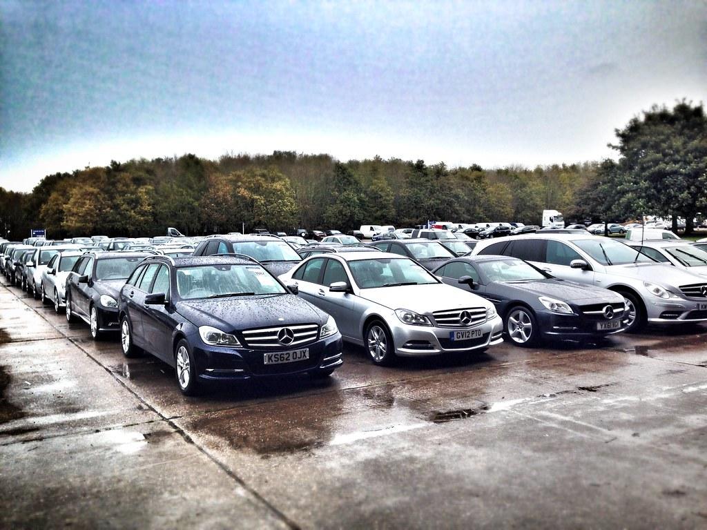 Mercedes At Manheim Car Auction | A huge ex fleet and lease