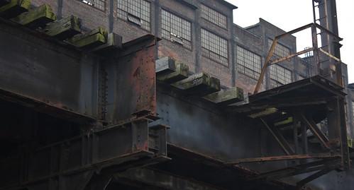 old colour closed pennsylvania rich rusty railway historic historical bethlehem bethlehemsteel artsquest flickr12days