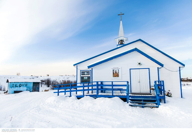 Church at the Dettah First Nations Community
