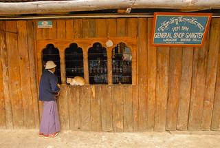 Bhutan- Gangtey village
