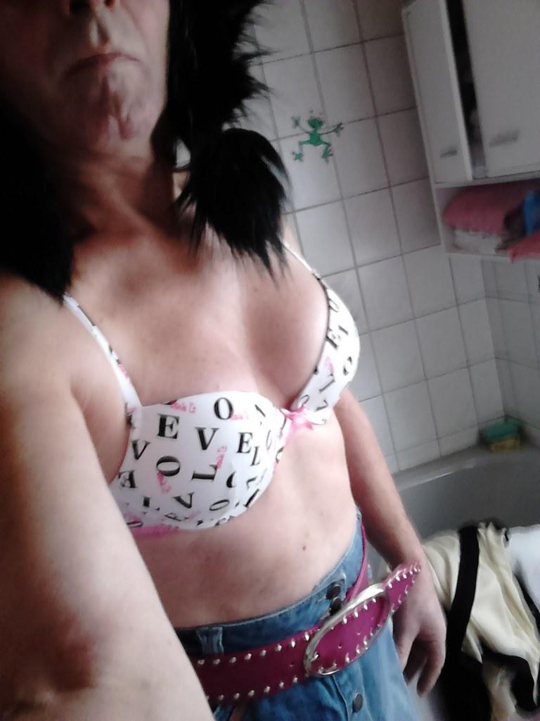 Titten in bh