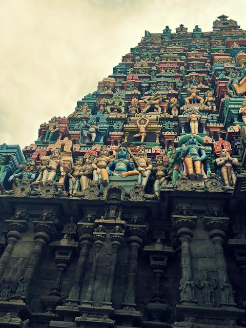 Srivaikuntam Temple Tower