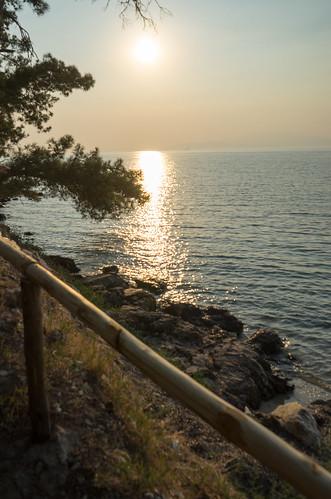 grecia sunset thassos thasos makedoniathraki greece