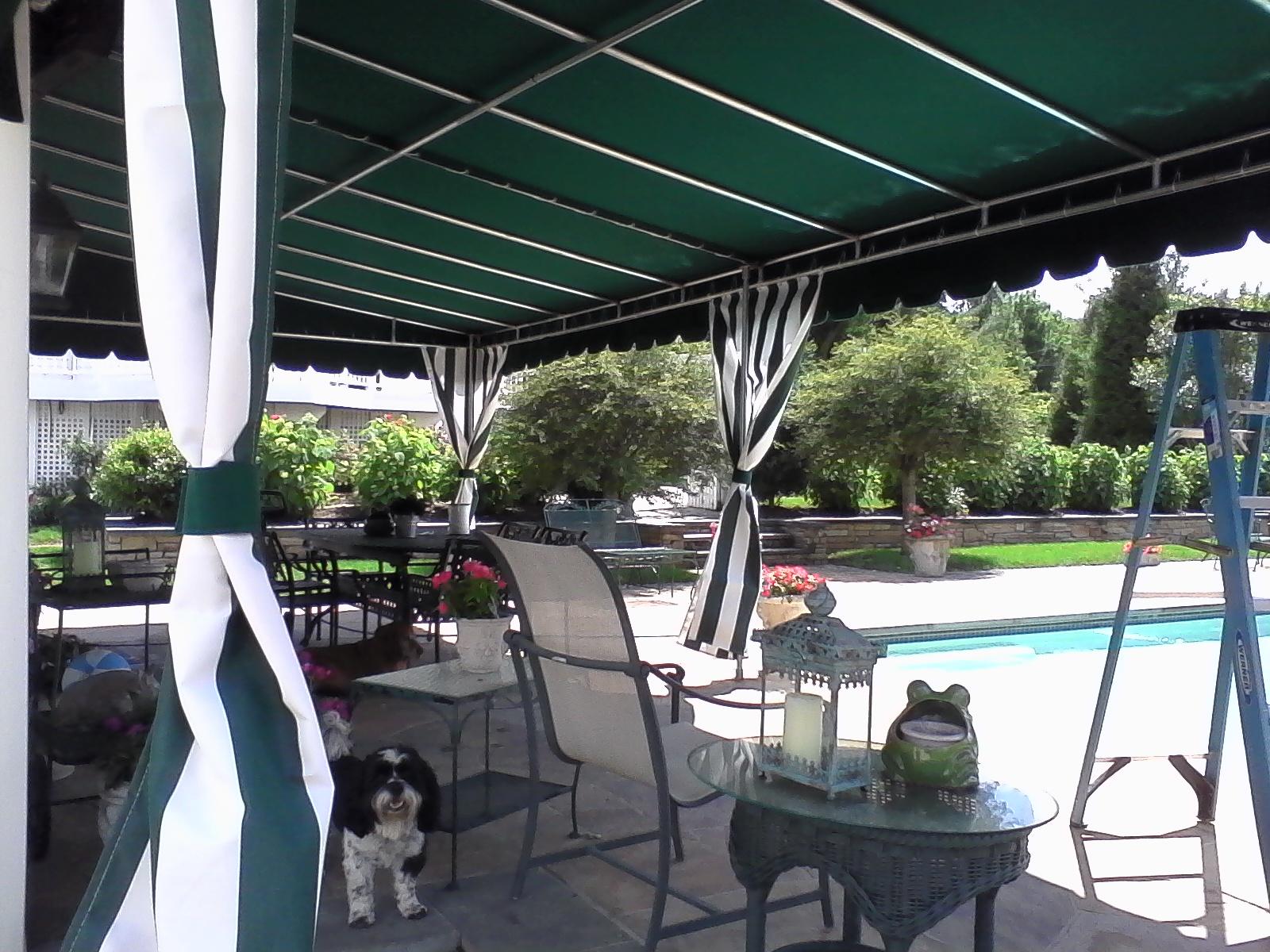Residential -Pool-Cabana-Awning