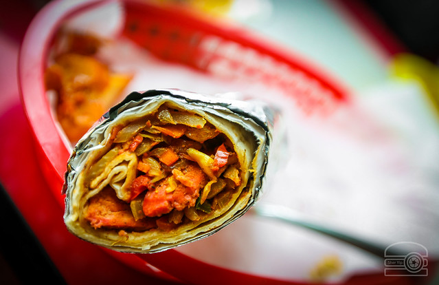 Chicken Tikka Wrap - Bombay Indian Grill