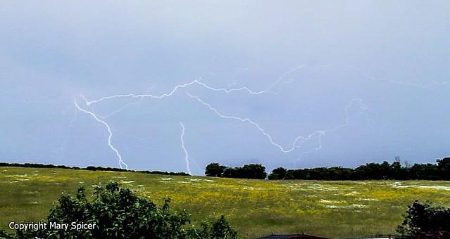 Lightning Over Fox Hill 16:02BST 15/06/16