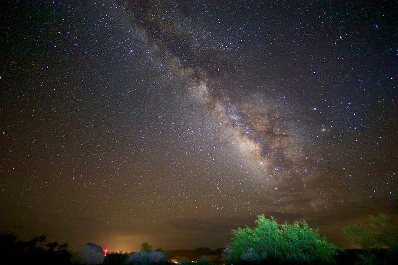 Milky Way Over Fort Davis
