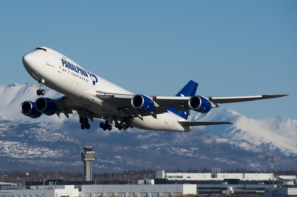 """Panalpina Boeing 747-8F N851GT """"Passion for Solutions"""""""
