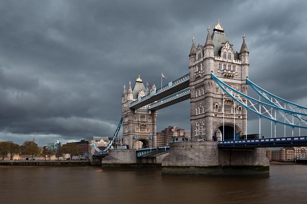 Gloom over Tower Bridge