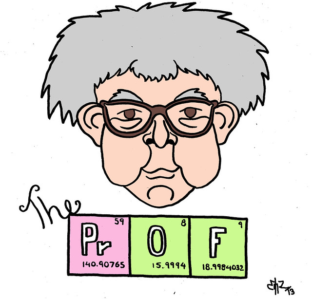 The Prof by Emz