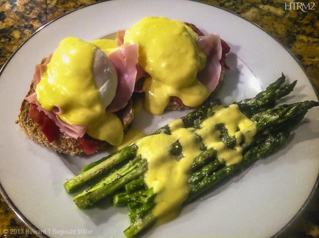 Eggs Benedict at Niecy's in Upper Marlboro, 2013