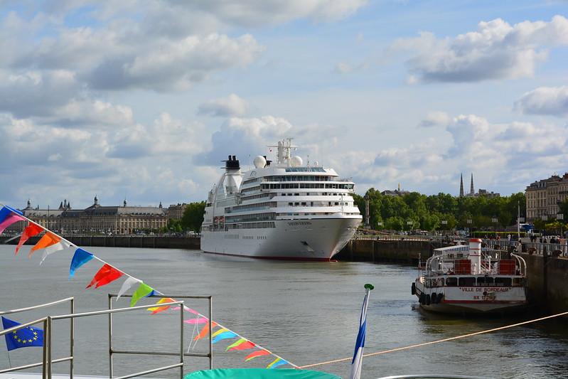 A bord du MS CYRANO DE BERGERAC - Croisieurope - Bordeaux - 16 mai 2013