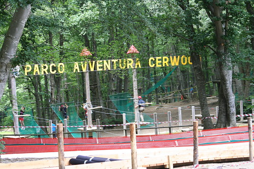 Stage al Parco avventura Cerwood - Giugno 2013