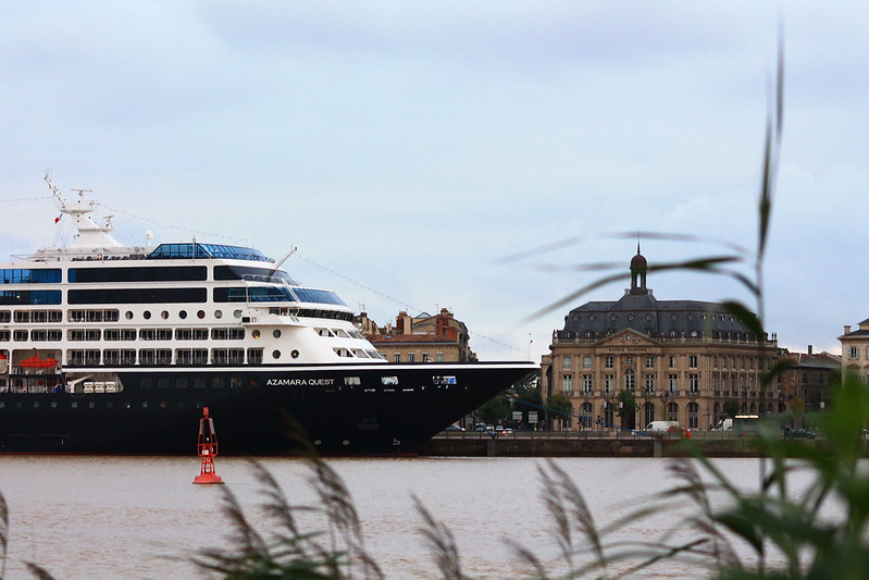Le MS AZAMARA QUEST à Bordeaux - 19 aout 2013