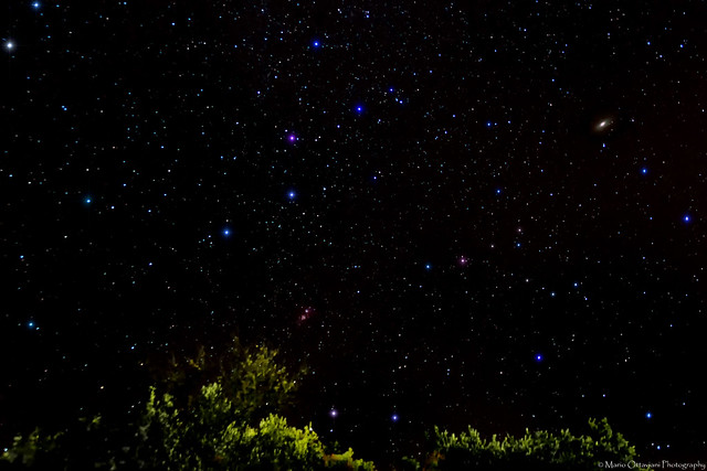 Cassiopeia, Andromeda and Double Cluster