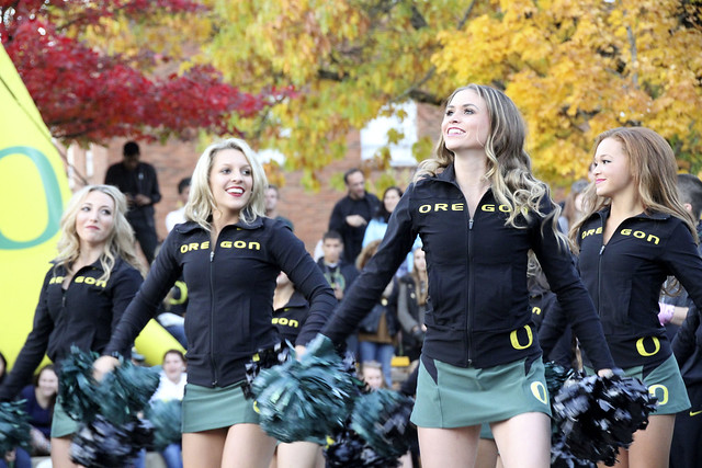 University of Oregon Cheerleading