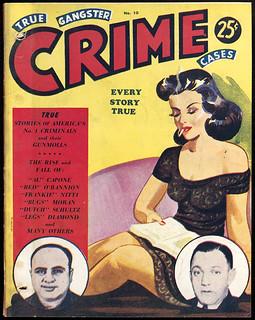 True Gangster Crime Cases. Vol. 2, no. 10 (November, 1940s) / True Gangster Crime Cases, vol. 2, no 10 (novembre, années 1940)