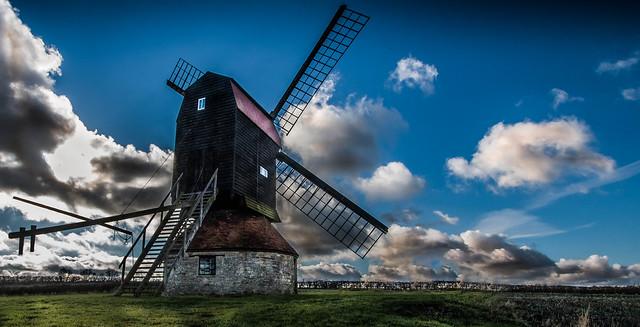 Stevington Windmill - Back (Explored)