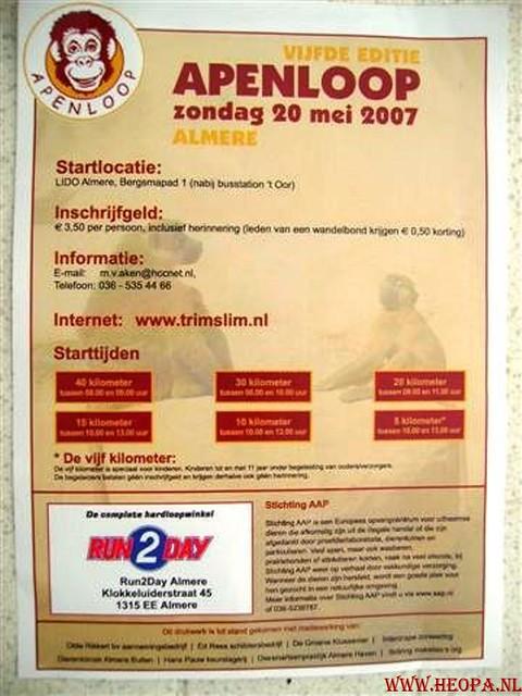 Apenloop 20-5-2007
