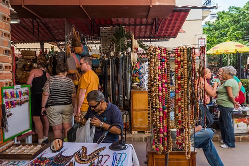 Local art market on Calle Obispo  in Old Havana, Cuba-2.jpg | by crystalcastaway