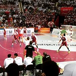Qatar vs Poland #qatar #qatar2015 #qatar_2015 #qatar_handball_2015 #hand #handball #liveitwinit #live #قطر #لوسيل #الدوحة