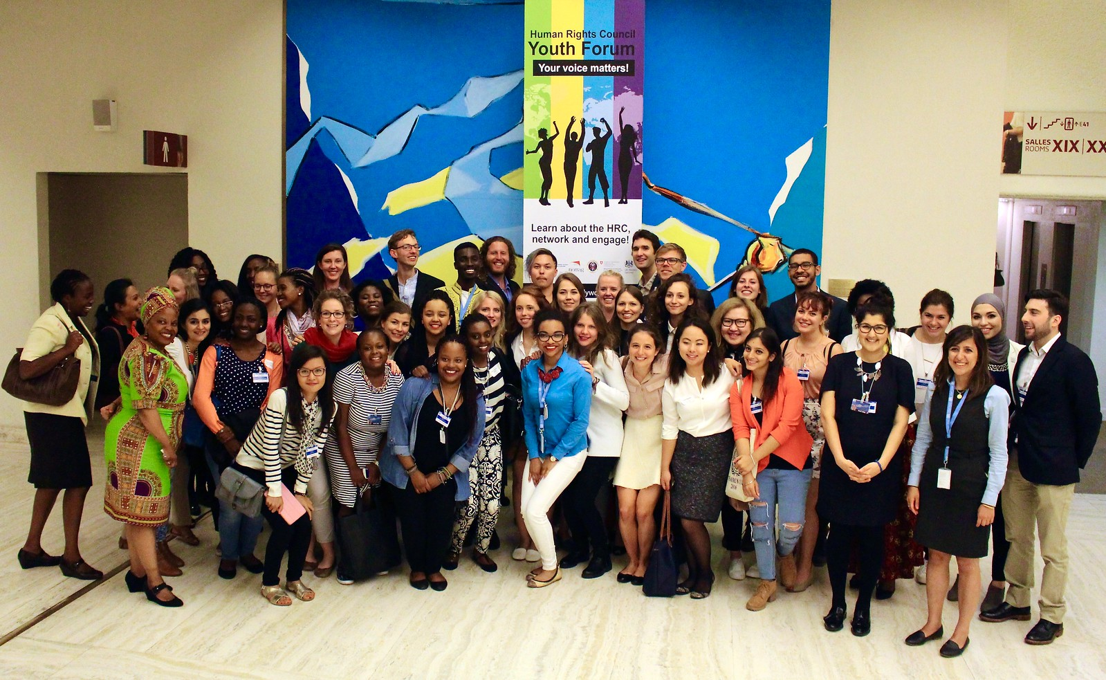 First HRC Youth Forum