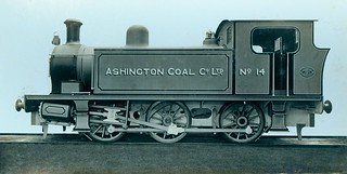 Locomotive for Ashington Coal Company