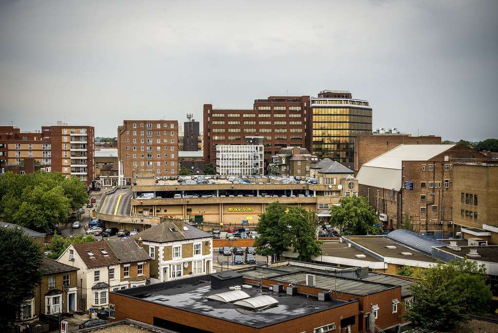 Wood Green Skyline From Wood Green Shopping City Chris Guy