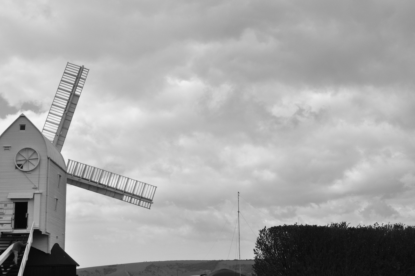 Jill A windmill on a hill