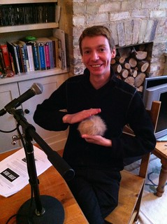 James Grime with a tribble | by wjjjjt